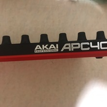 AKAI AKAI PRO APC 40 II USB 2017 черно красный