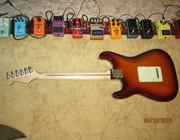 Fender Deluxe Stratocaster 2017 Tobacco Sunburst