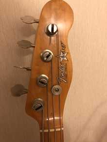 Fender Bullet 1982 красный