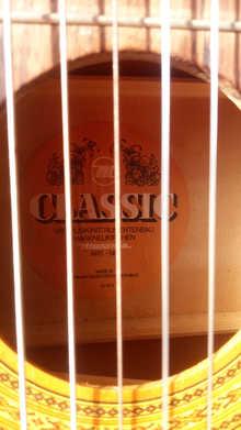 Продам гитару Musima Classic