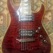 Schecter Omen Extreme7  BlackCherry