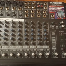 Mackie VLZ 1202-Pro.Made in USA. Soundcraft/Allen heatch/Alto/Behringer