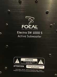 Focal Sw 1000