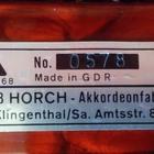 Horch Superior 1973 красный/бархат