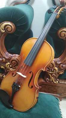 Старинная немецкая скрипка 1900 года