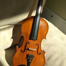 Скрипка из глазкового клёна, Германия