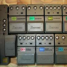 Набор педалей Ibanez WD7, SM7, DE7, PM7, CF7, LF7, TS7, SH7, DS7 (9 шт.)
