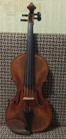 Мастер Владимир Калашников скрипка 2012