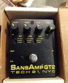 SansAmp Tech 21 gt2  Чёрный