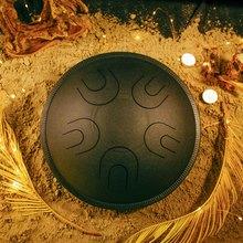 Глюкофон МИРА  Черная жемчужина (аналог Ханг драм, Hapi Drum, Happy Drum Hang) Hijaz 36 см 10 нот