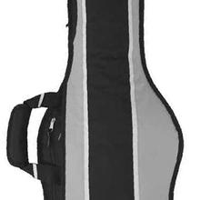 Чехол  для 2-х электрических гитар утепленный Madarozzo MA-G0050-DEG-BG цвет Black/Grey