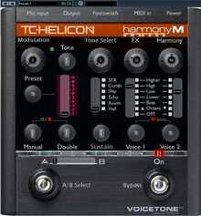 TC-HELICON Voicetone Harmony M 2016 Black