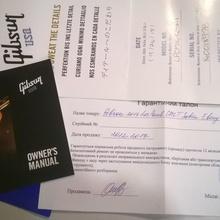Gibson  Les Paul Cm T Satin Ebony Satin Nickel 2016 черний