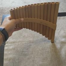Пан-флейта, 12 труб, Hora  PFALT 12 2017 дерево
