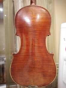 Французская мастеровая скрипка 19 век