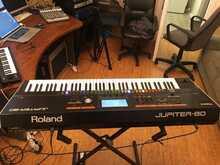 Roland Jupiter 80 2018 черный