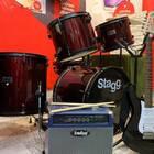 Stagg TIM122WR 2020 Бургунди
