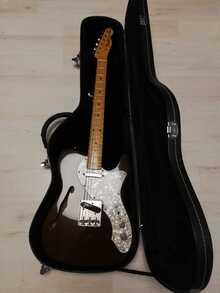 Fender Traditional'69 Telecaster Thinline  Fender Traditional'69 Telecaster Thinline 1969   Красное дерево