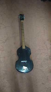 Bass guitar No name 1990 Black/золотистый