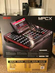 Akai MPC X Standalone Music Production Center Workstation, Sampler and Sequencer