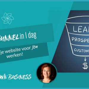 lead funnel in 1 dag