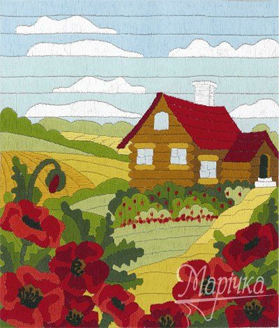 Summer house | Needlepoint Kits