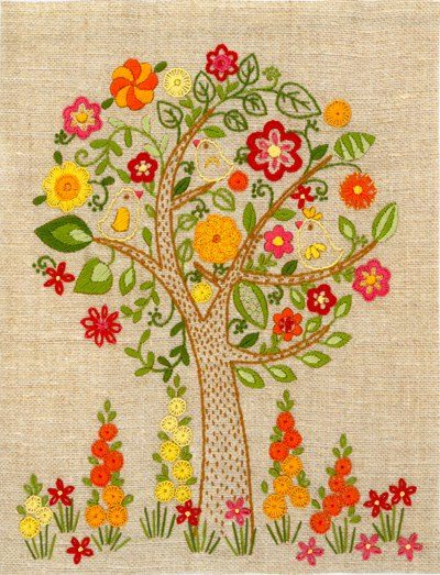Blooming tree | Needlepoint Kits