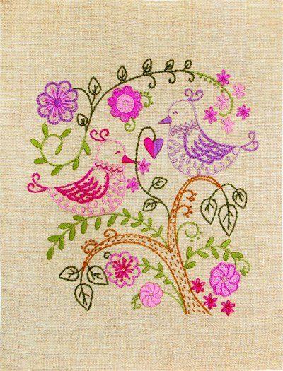 Love birds | Needlepoint Kits