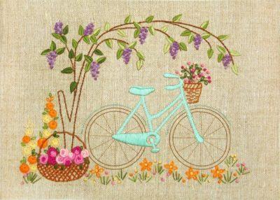 Bicycle tour | Needlepoint Kits