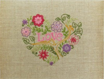 Flower heart | Needlepoint Kits
