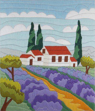 Lavender field | Needlepoint Kits