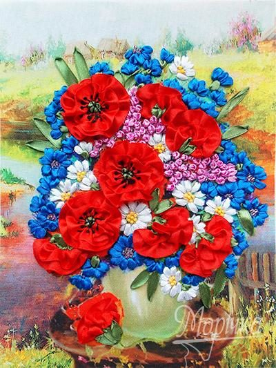 Poppies and cornflowers | Needlepoint Kits