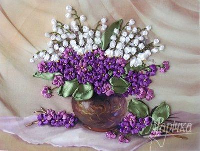 Delicate violets | Needlepoint Kits