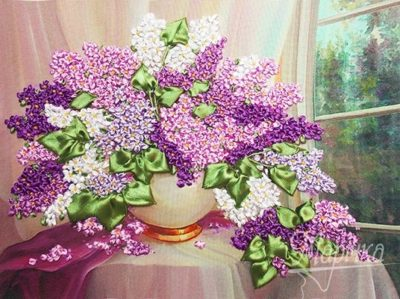 Bouquet of lilac | Needlepoint Kits