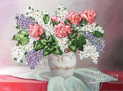 Roses and lilac | Needlepoint Kits