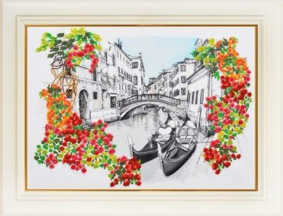 Venice in bloom | Needlepoint Kits