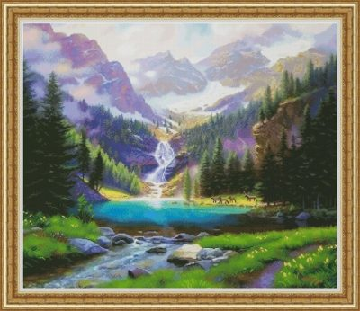 Waterfall | Needlepoint Kits