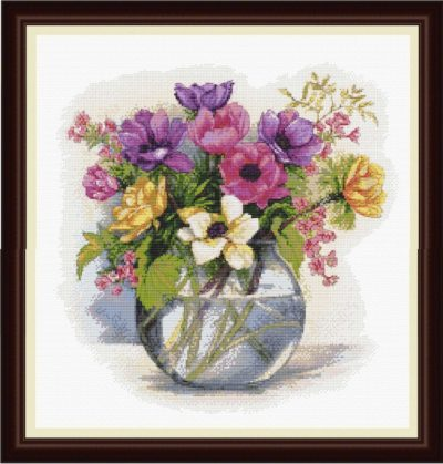 Watercolor bouquet | Needlepoint Kits