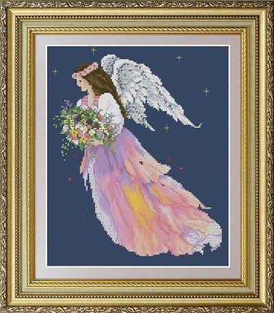 Angel of Flowers | Needlepoint Kits