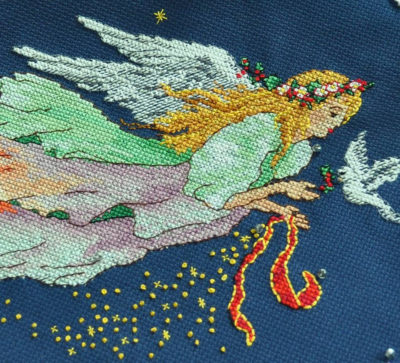 Сhristmas angel | Needlepoint Kits