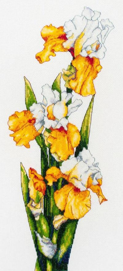 Yellow irises | Needlepoint Kits