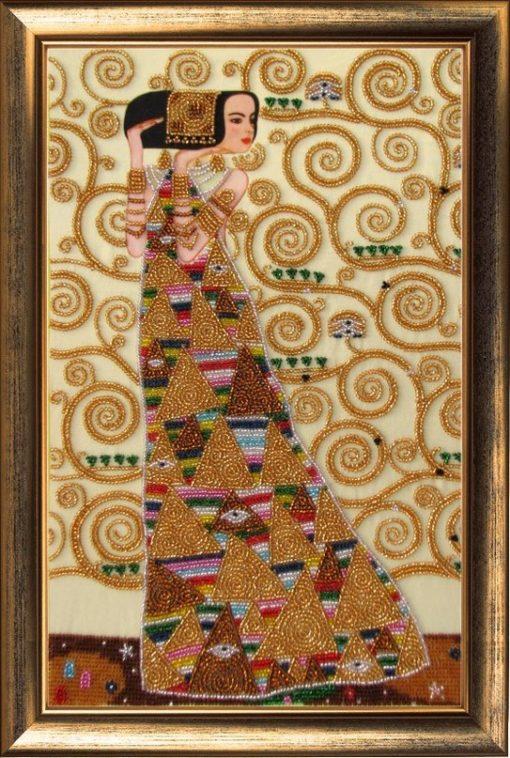 Waiting (Gustav Klimt) | Needlepoint Kits