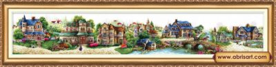 Fairy Town | Needlepoint Kits