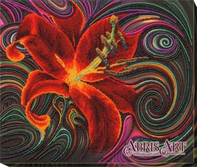 Magic red lily | Needlepoint Kits