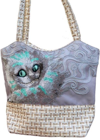 Cheshire Cat bag | Needlepoint Kits