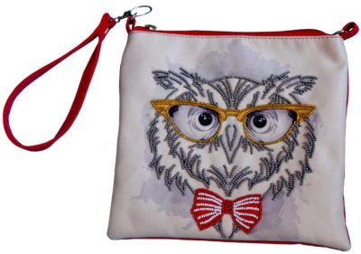 Uncle Owl clutch | Needlepoint Kits