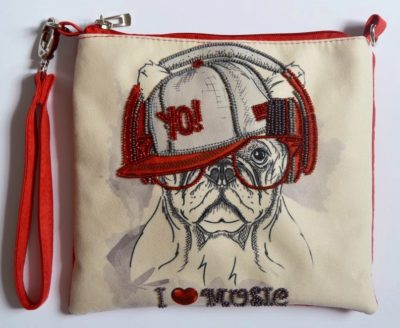 I love music clutch | Needlepoint Kits