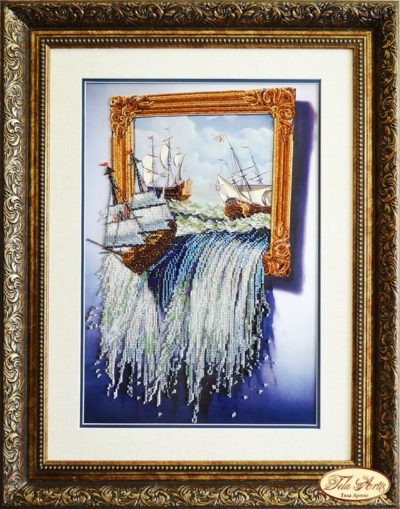 Sea in the picture | Needlepoint Kits