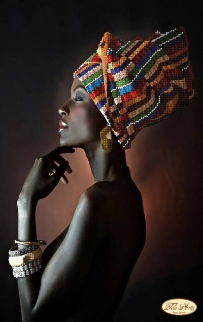 African woman | Needlepoint Kits