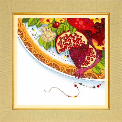 Oriental colors. Garnet | Needlepoint Kits
